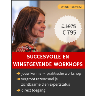 Training succesvolle en winstgevende workshops van HEDWYG.NL